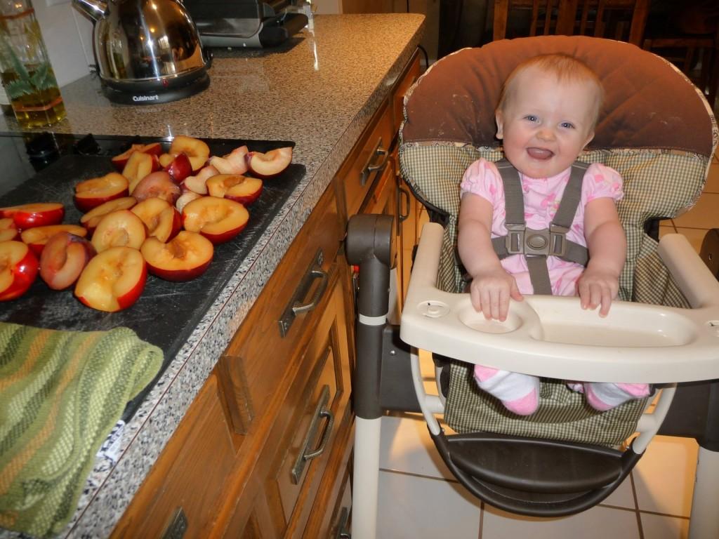 making baby food