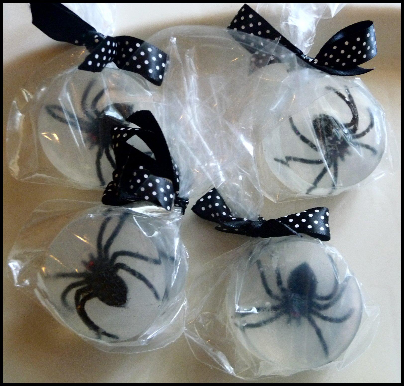Halloween Craft: Spider Soap