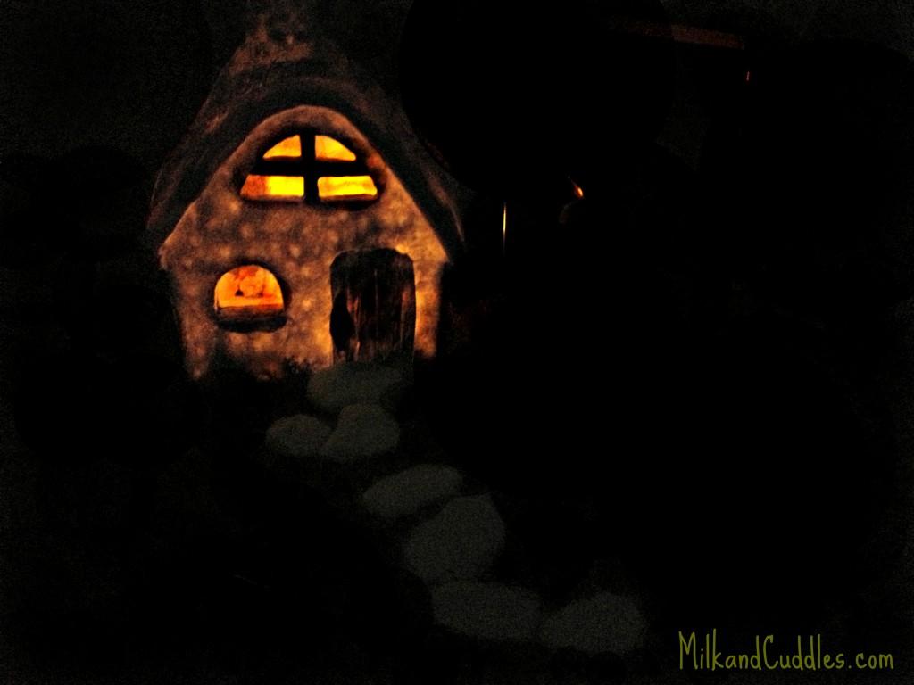 glow in the dark fairy garden