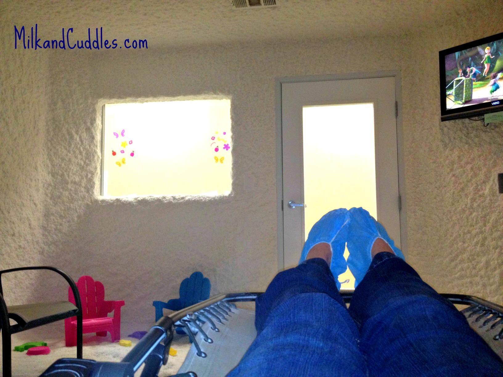 salt room view- feet