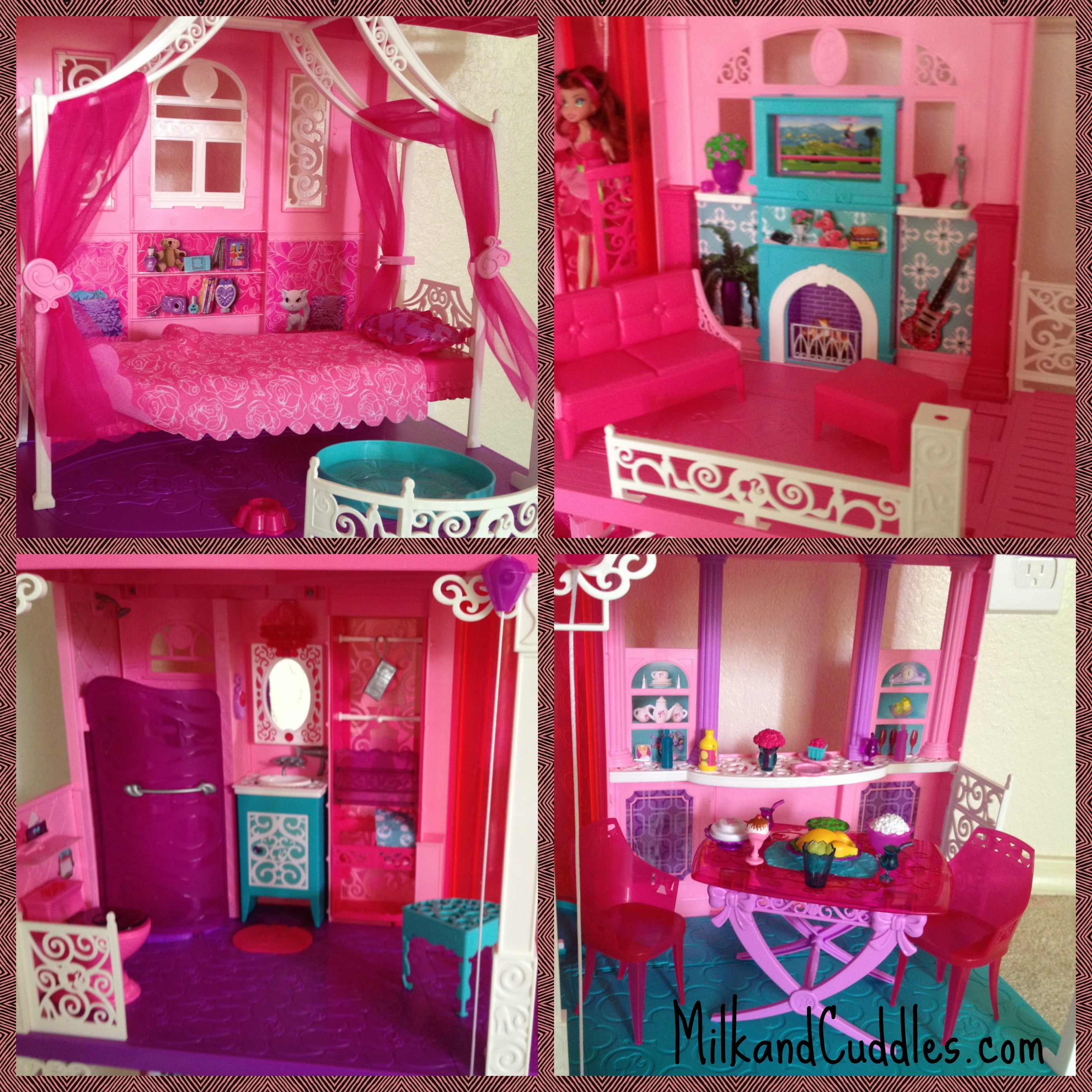 Dreams House Furniture: The Barbie Dreamhouse 2013