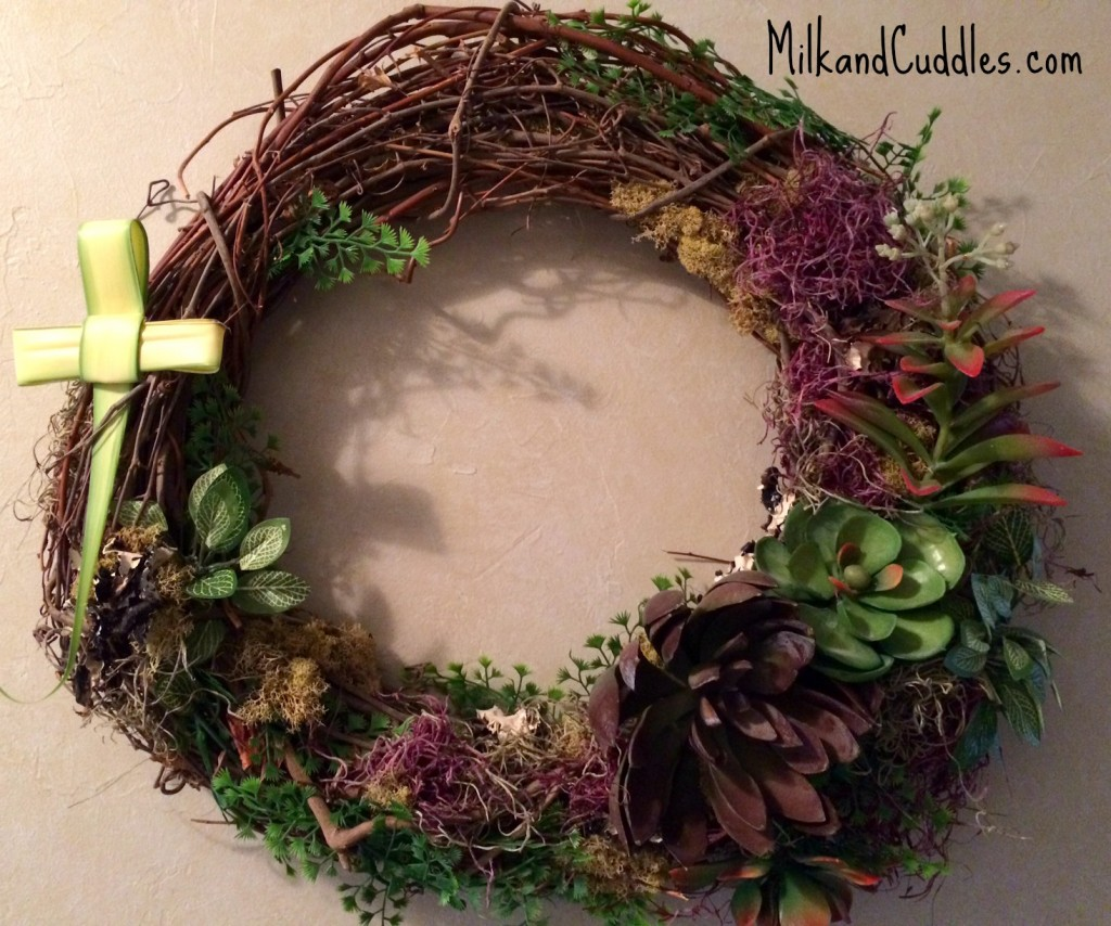 palm sunday wreath