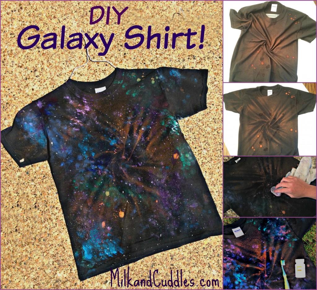 how to make a galaxy shirt