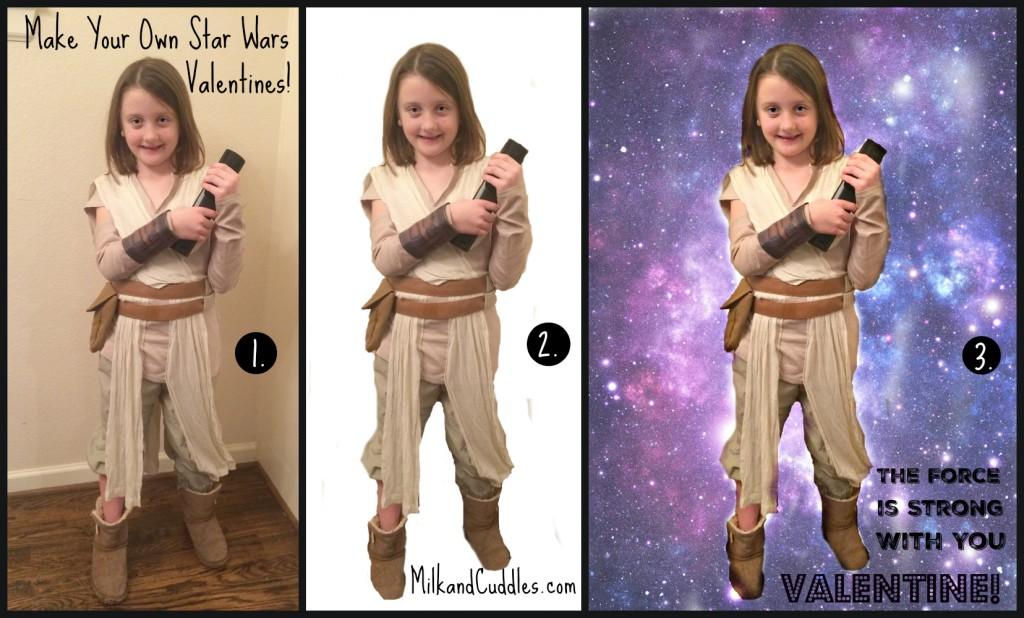 How to design a Star Wars Valentine