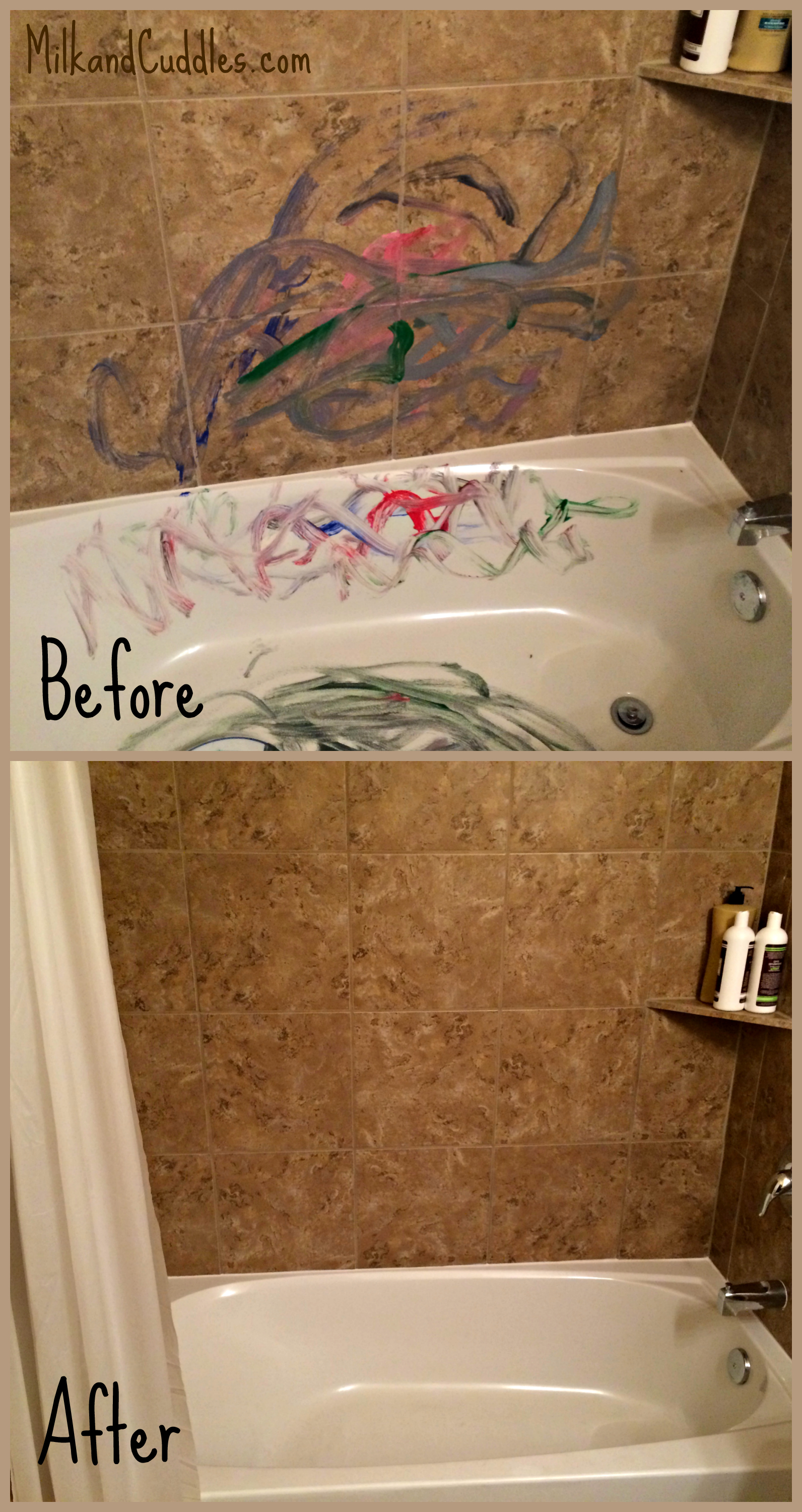 Bathroom Before After A Scrubbing Bubbles Challenge Everyday Best