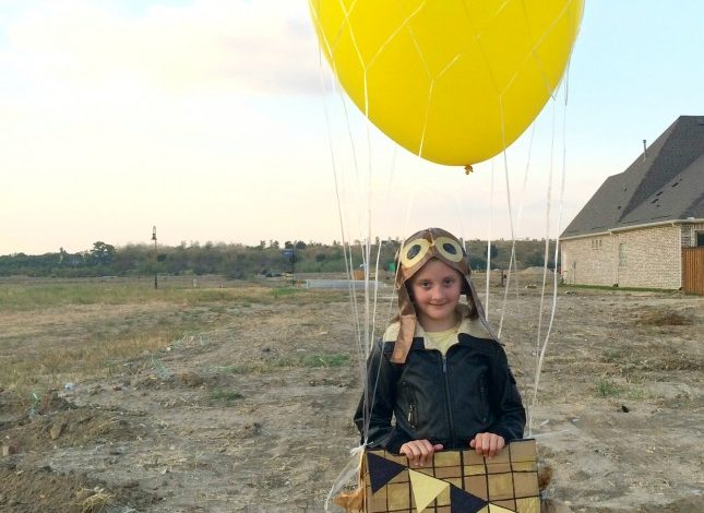 Hot Air Balloon Costume – Out of a Box!