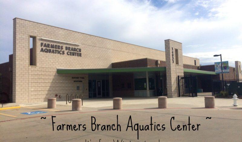 Farmers Branch Aquatics Center – It's not just for Summer!