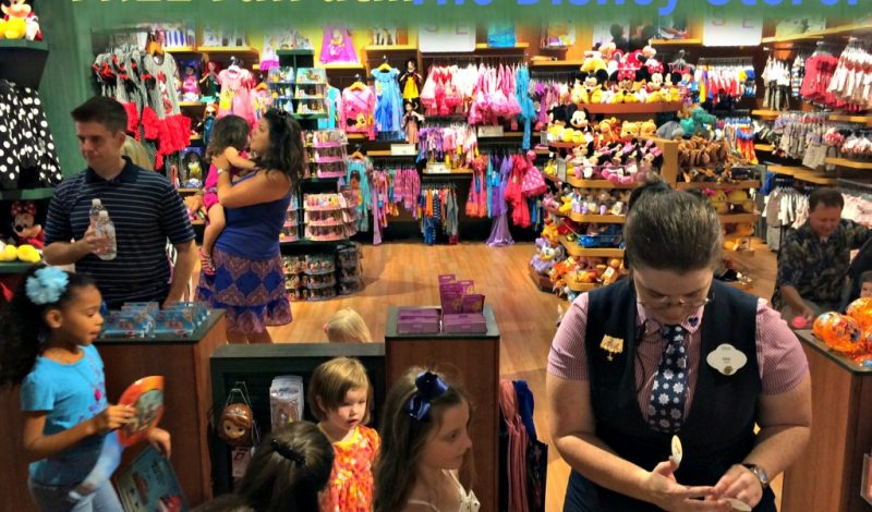 3 totally FREE Ways to Experience Disney Magic – at a Disney Store!