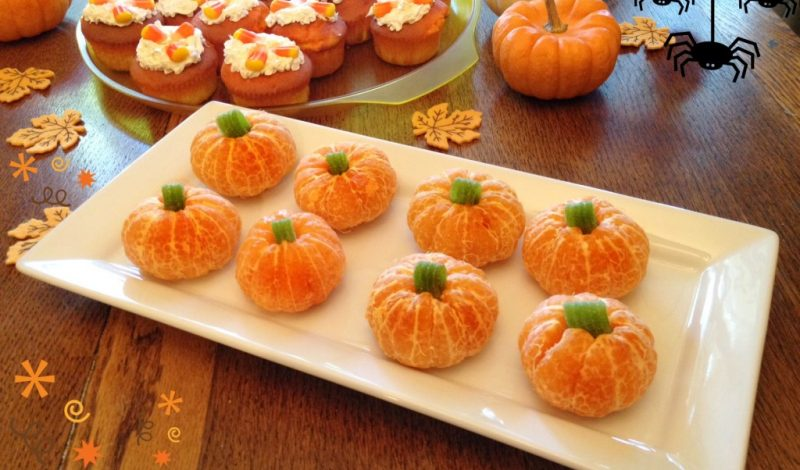 Recipe &Tips for Candy Corn Cupcakes and Orange Pumpkins!