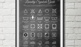 Laundry Room Printables {Free}