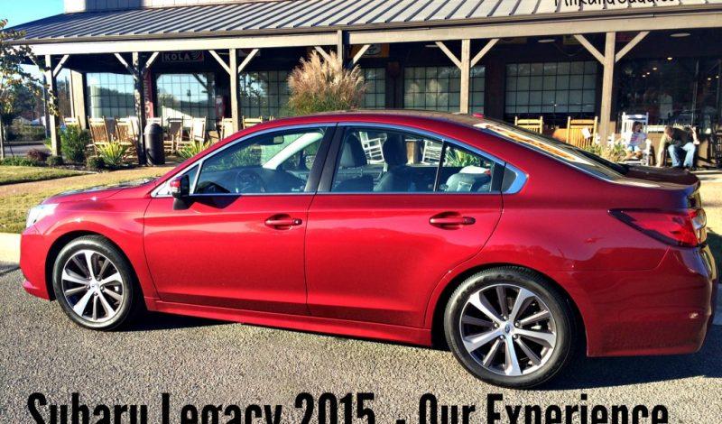 Road Trip in The 2015 Subaru Legacy!