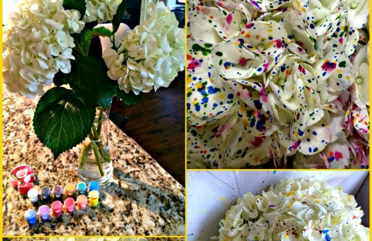 Make Ordinary Hydrangeas – Party Ready!