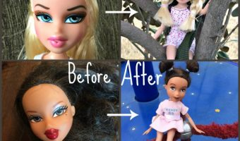 How to Give a Doll a Make- Under!