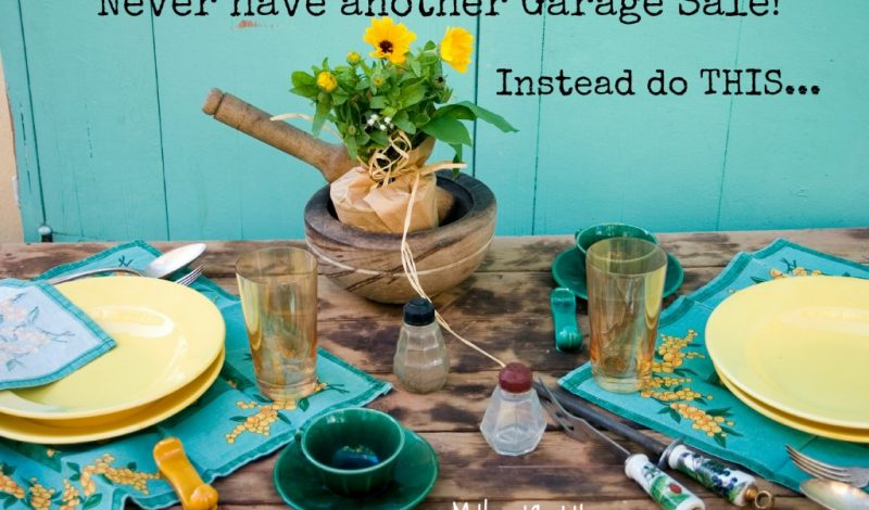 Garage Sales are SO yesterday – Try VarageSale!
