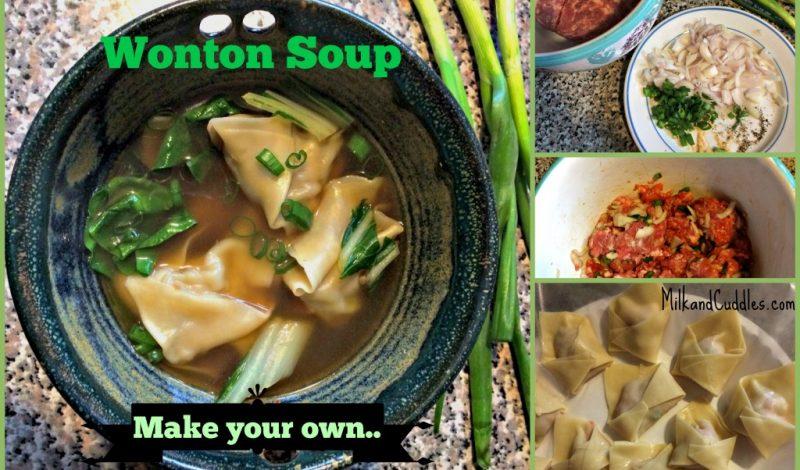 Best Wonton Soup Recipe!