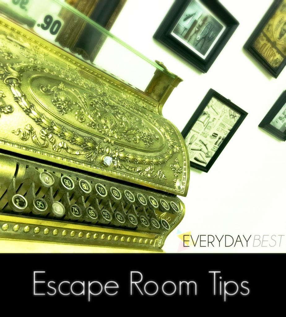 Escape room tips and tricks
