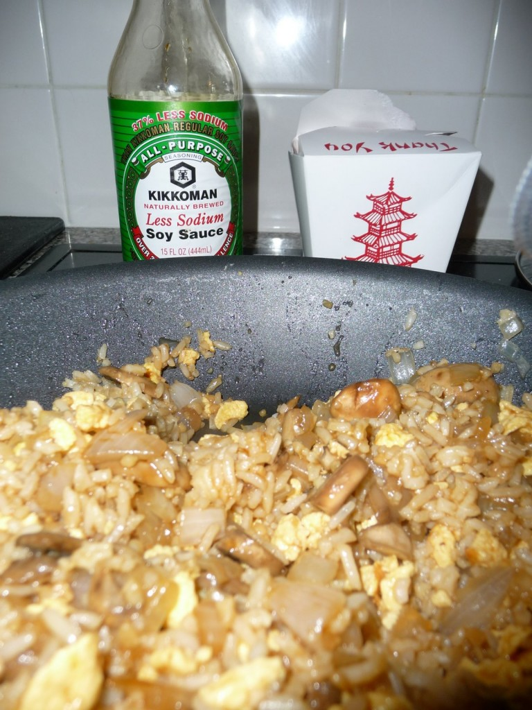 make fried rice