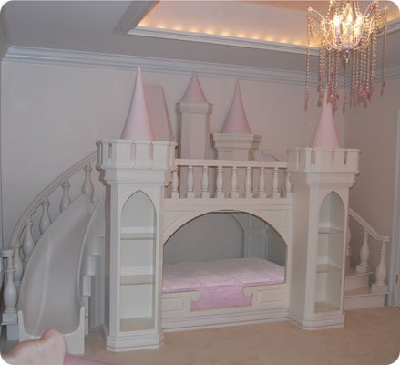 Pics for girl toddler bed with slide - Princess bed for toddler girl ...