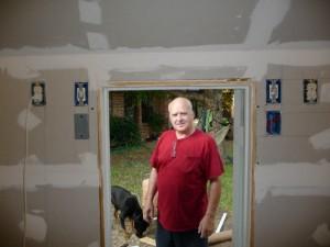 playhouse drywalled