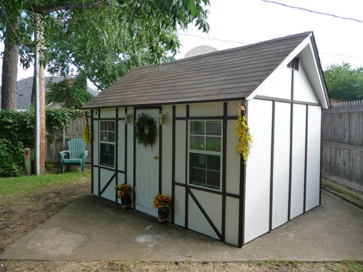 finished playhouse