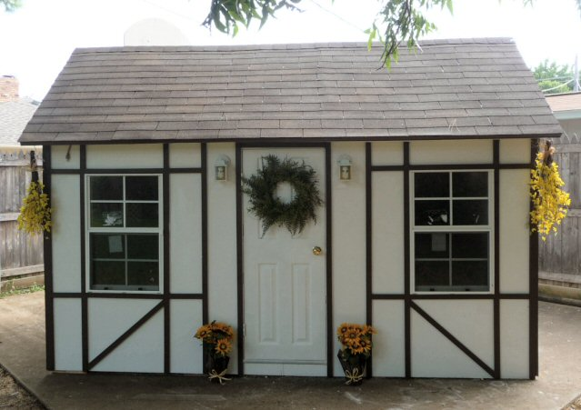 front of playhouse