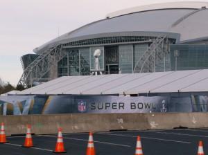 cowboy stadium ready for super bowl