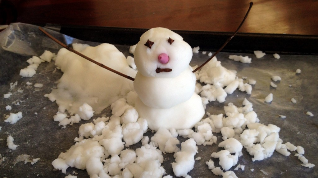 how to make snow