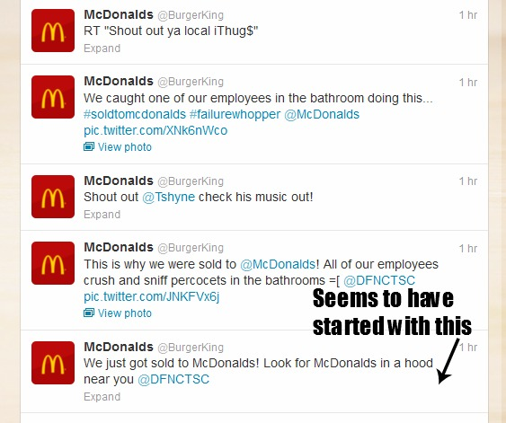 Burger King Twitter gets hacked