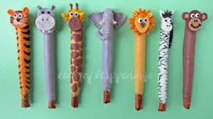 jungle animal pretzels, jungle animal party, animal party food, animal themed party favors