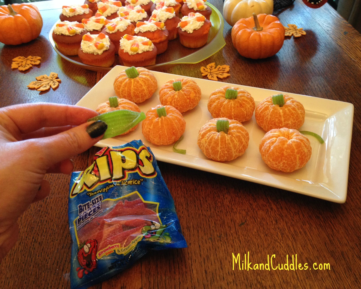 Recipe Amp Tips For Candy Corn Cupcakes And Orange Pumpkins