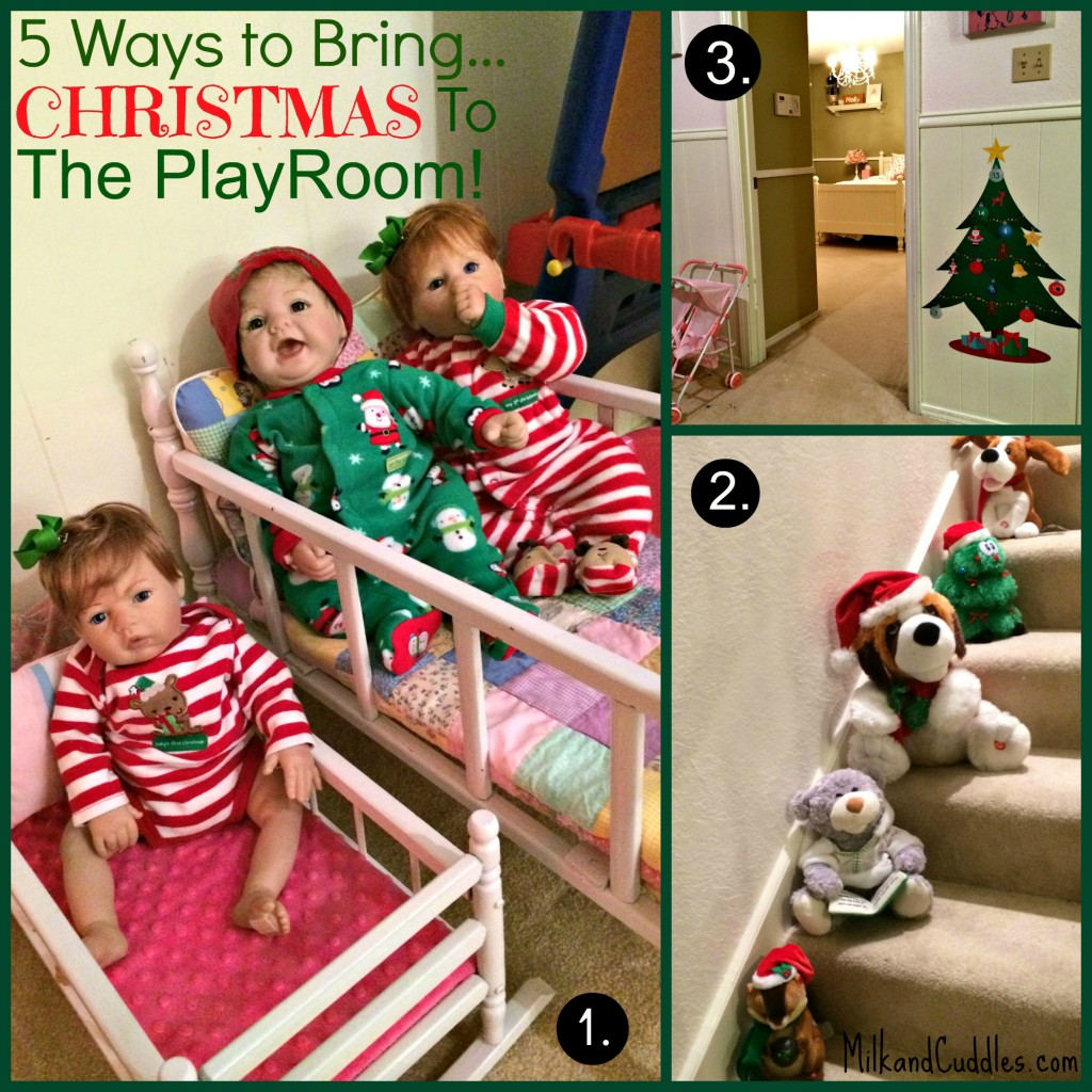 playroom Christmas