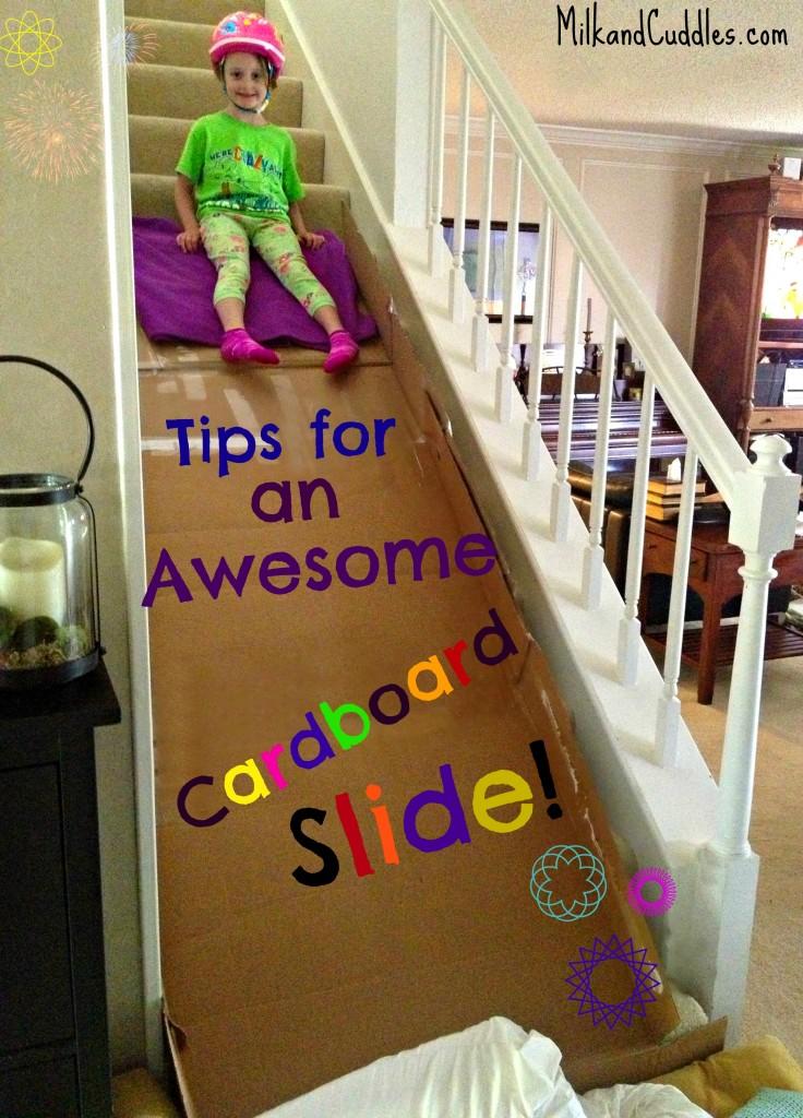 carboard slide
