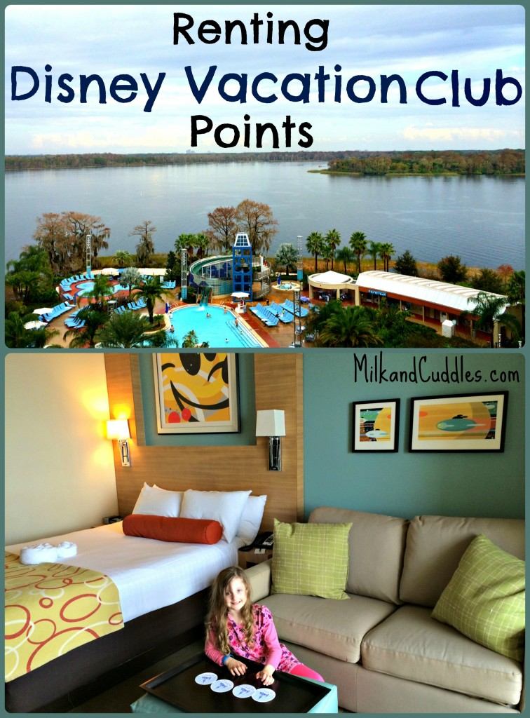 how to rent DVC points