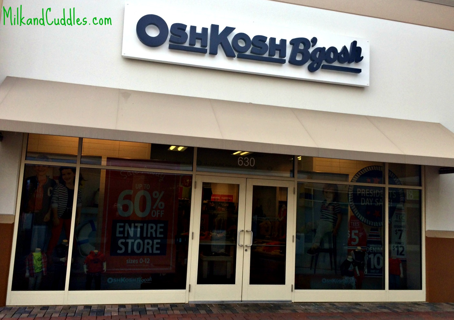 Find your nearest OshKosh B'Gosh store locations in United States.