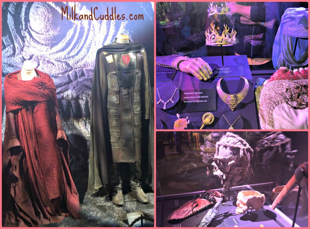 Game of thrones exhibition costumes