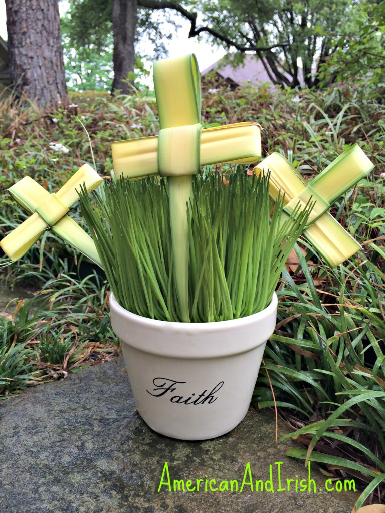 Folding Palm Sunday Crosses