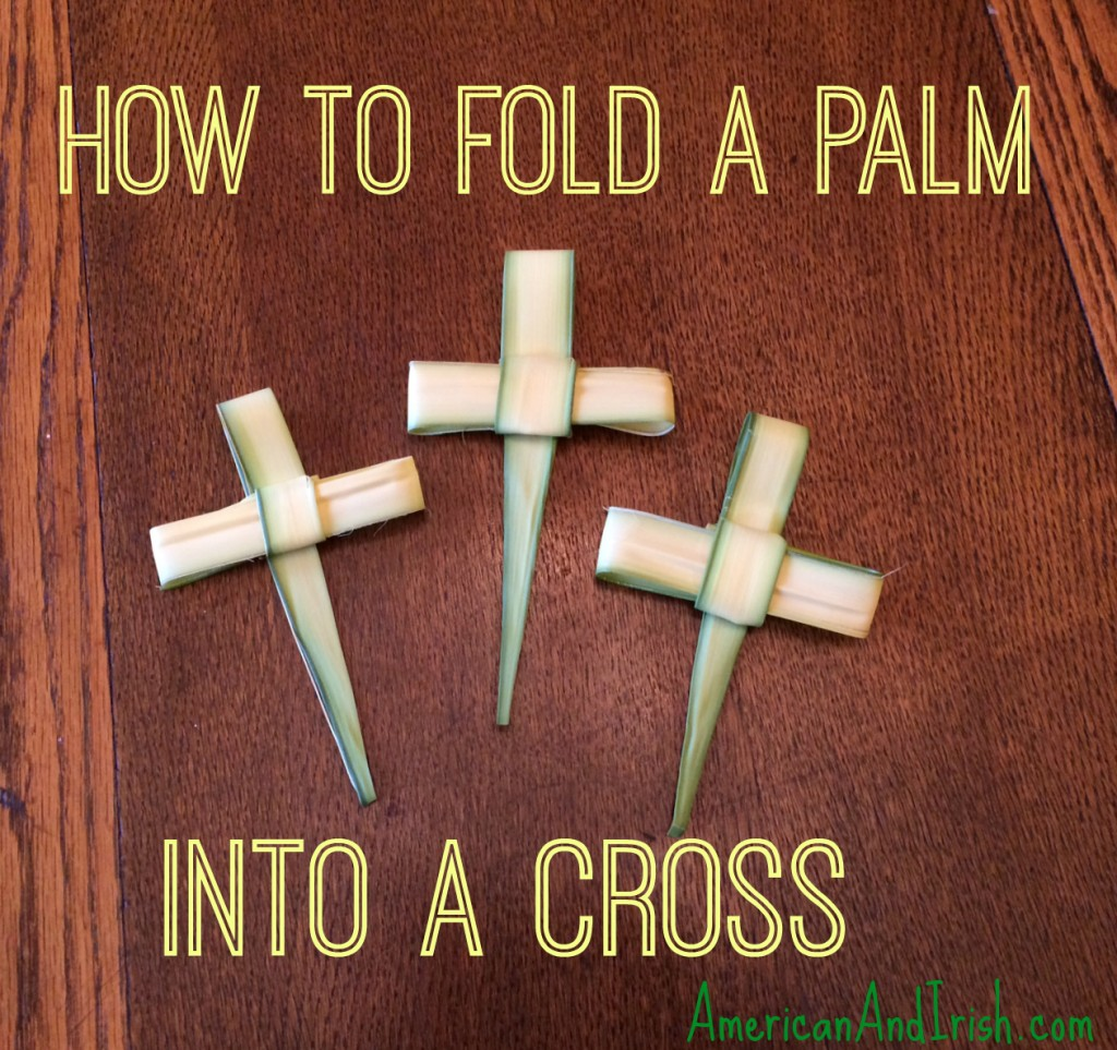 how to fold palms