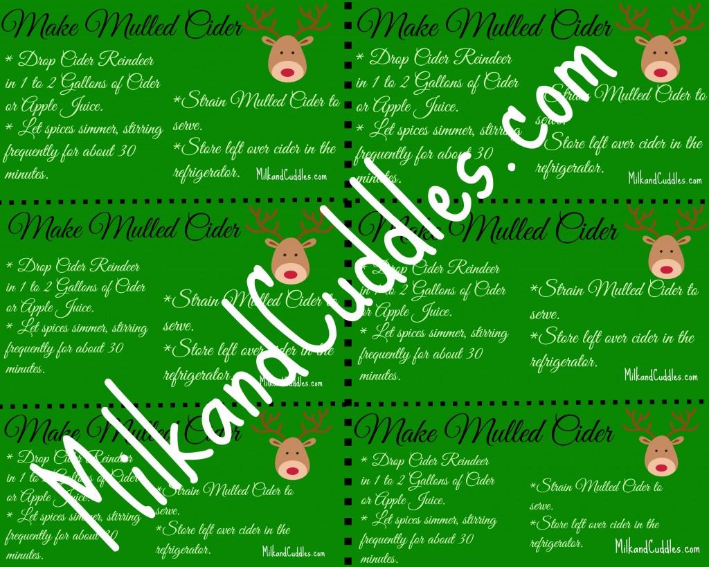 reindeer printable download