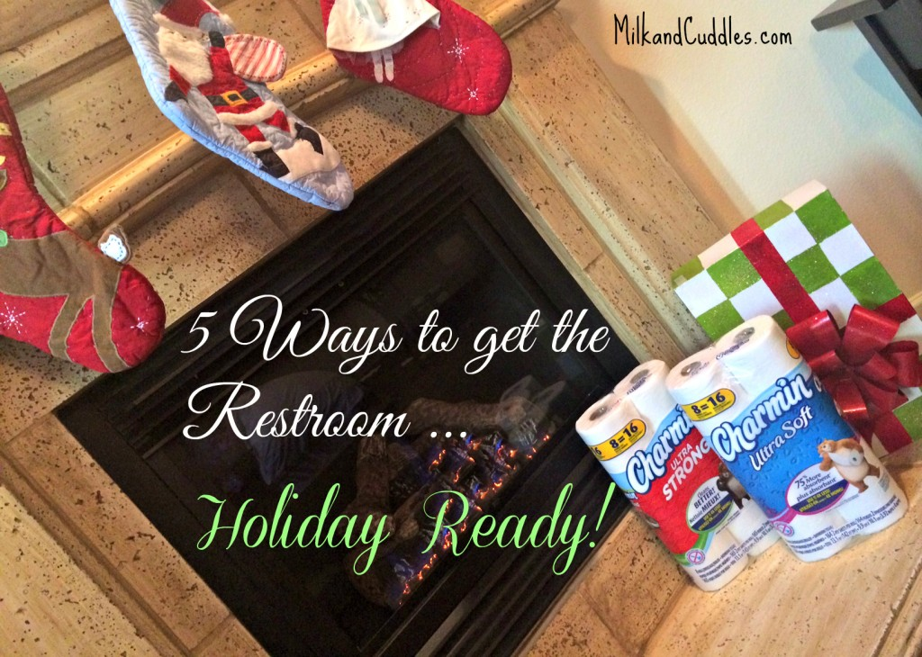 tips to get your bathroom ready for holiday