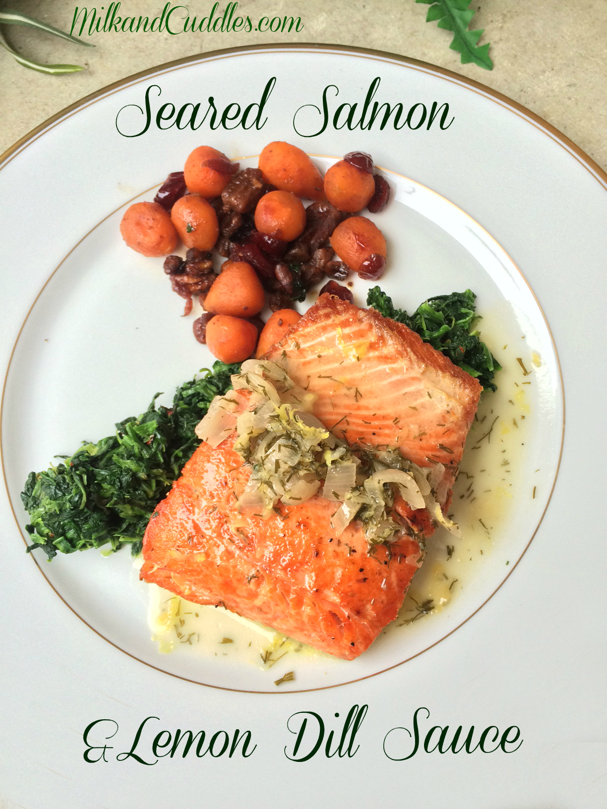 ... go better with Salmon than some lovely creamy – Lemon Dill Sauce
