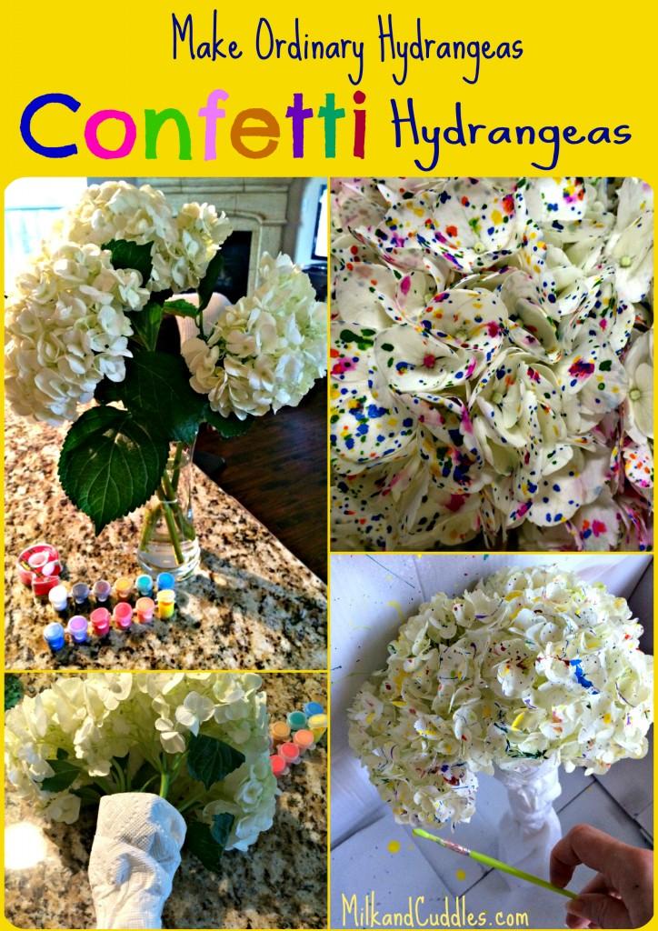 make confeetti hydrangea