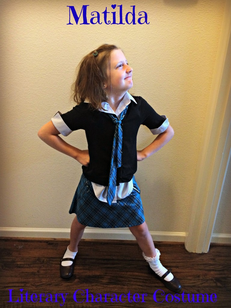 matilda costume diy