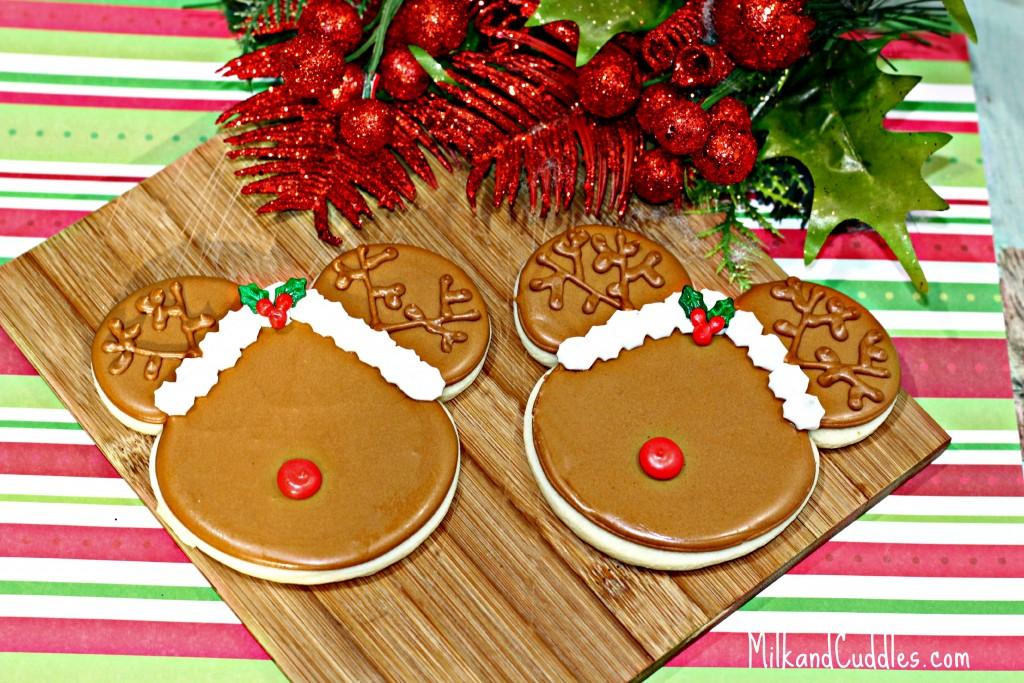 Mickey Reindeer Cookies 1-5