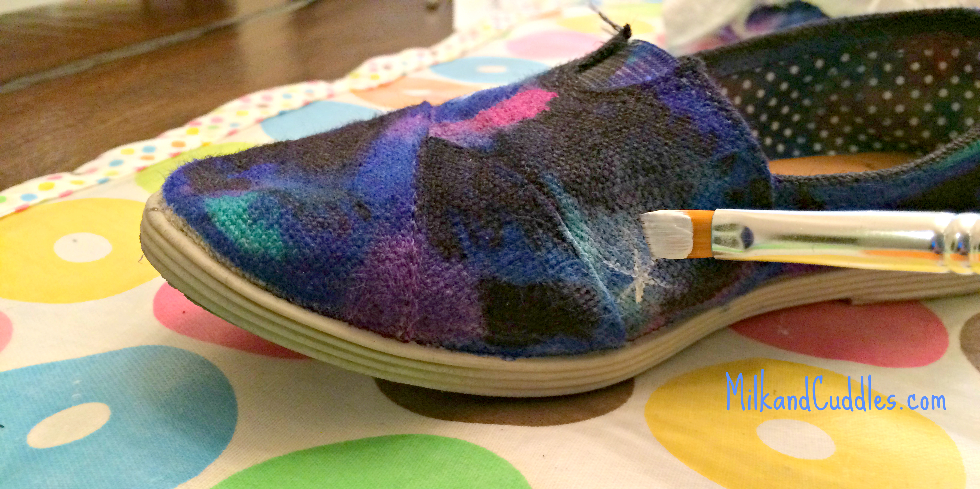 a53ac7cb85a309 How to Make Galaxy Shoes - Universe Shoes!