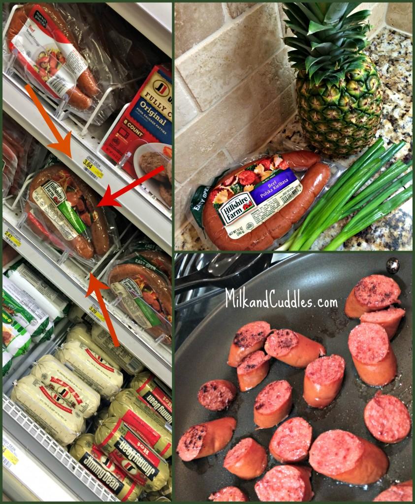 Hillshire Farm sausage