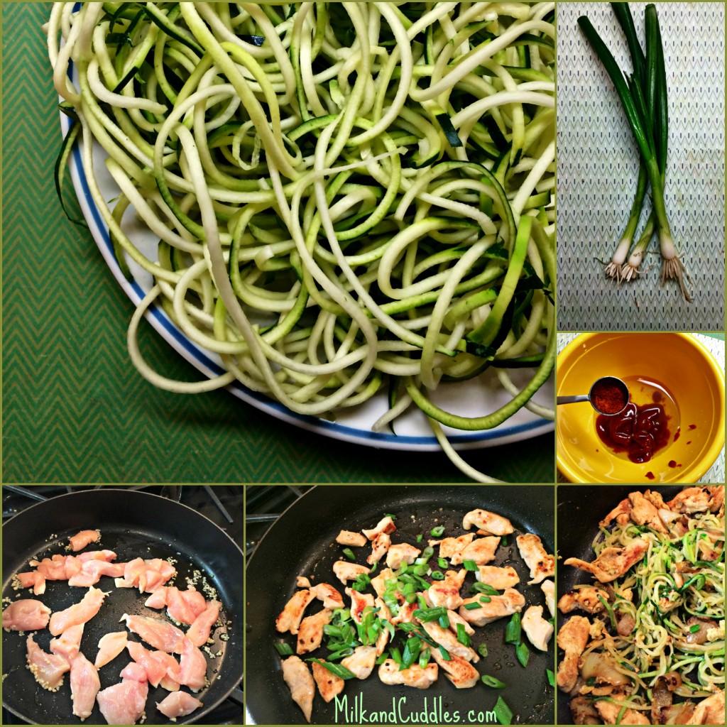 zucchini spiral pad thai