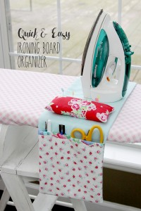 Quick-and-Easy-Ironing-Board-Organizer