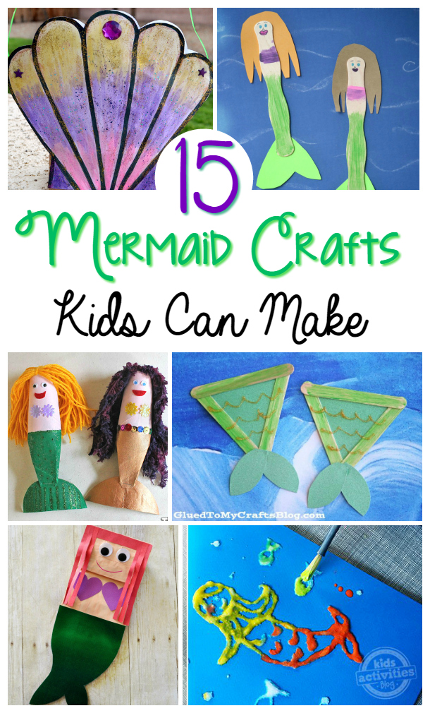 fun family craft ideas 15 mermaid crafts 4530