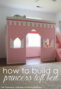 princess-castle-loft-bed-title