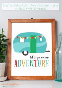 adventure FREE PRINTABLE